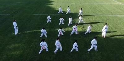 Karate class